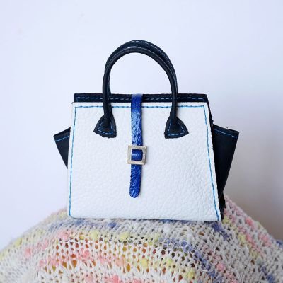 Bag white-black-blue 6