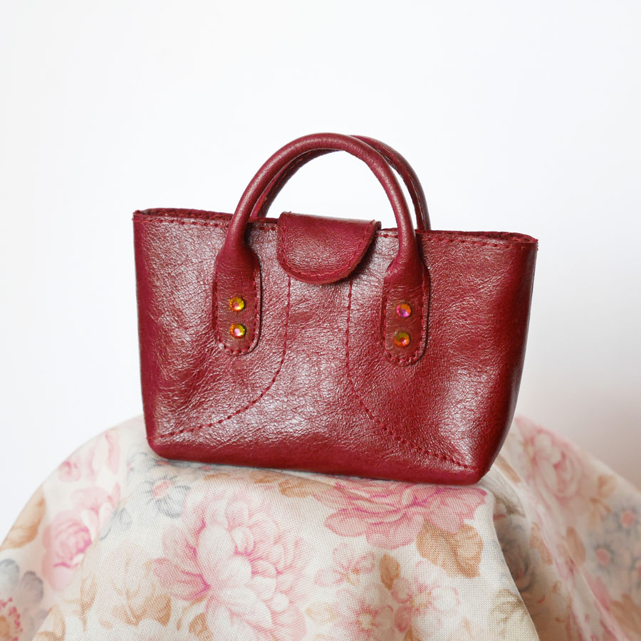 Wine red bag by m.dita