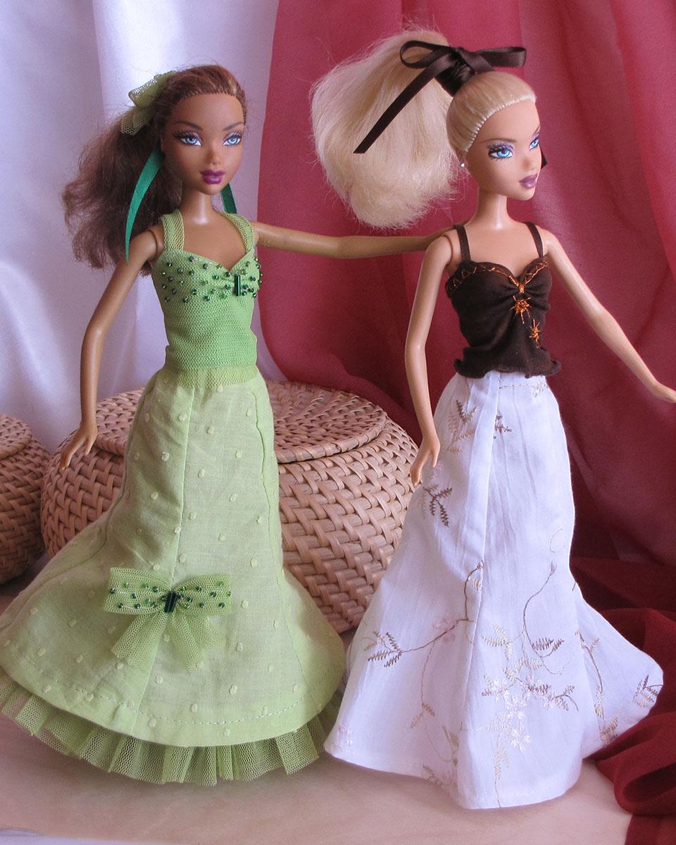Pětidílná rozšířená sukně